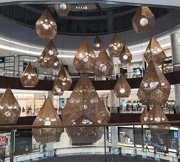 迪拜-MALL OF THE EMIRATES 购物广场