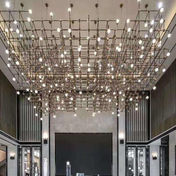 大型商业灯具