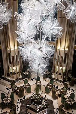 酒店工程灯具的价格直接决定了酒店照明的水平