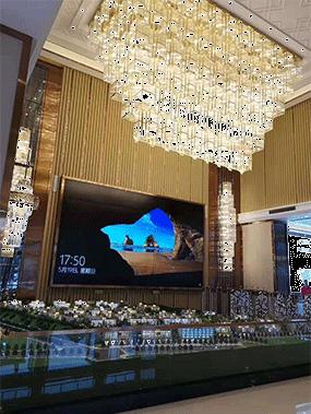售楼部灯具是需要定制设计的,你喜欢吗?