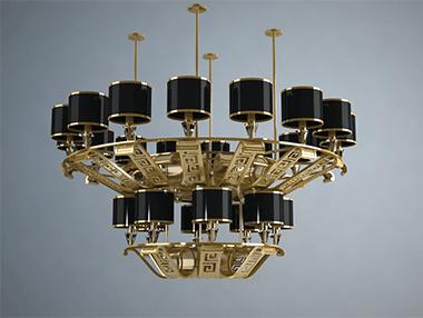 售楼部灯具控制模式也有两种模式