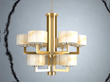 酒店灯具定制在设计过程中,照明产品的外观需匹配