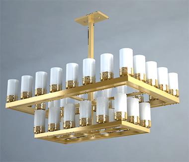 照明具备温和的设计方案