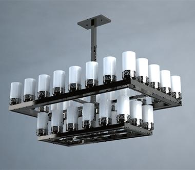 售楼部灯具关键的功效是用以照明